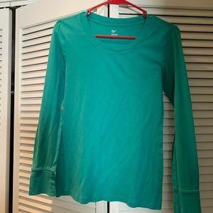Gap Green Long Sleeve Shirt